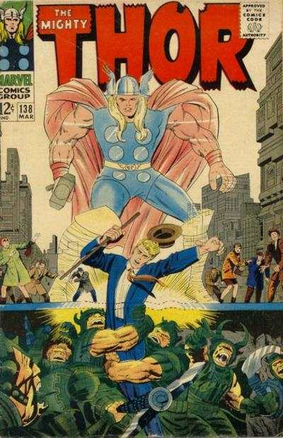 Thor #138 Comic Books - Covers, Scans, Photos  in Thor Comic Books - Covers, Scans, Gallery