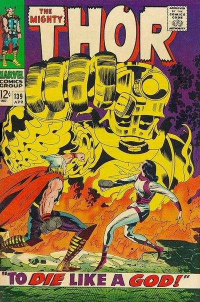 Thor #139 Comic Books - Covers, Scans, Photos  in Thor Comic Books - Covers, Scans, Gallery