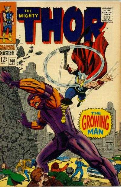 Thor #140 comic books - cover scans photos Thor #140 comic books - covers, picture gallery