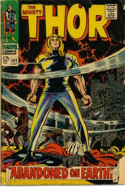 Thor #145 comic books - cover scans photos Thor #145 comic books - covers, picture gallery