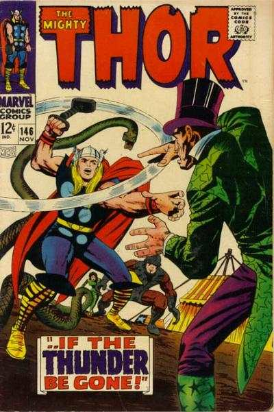 Thor #146 comic books - cover scans photos Thor #146 comic books - covers, picture gallery