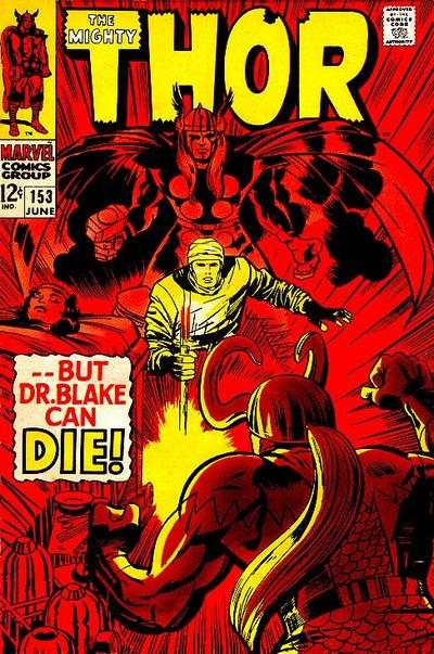 Thor #153 comic books - cover scans photos Thor #153 comic books - covers, picture gallery