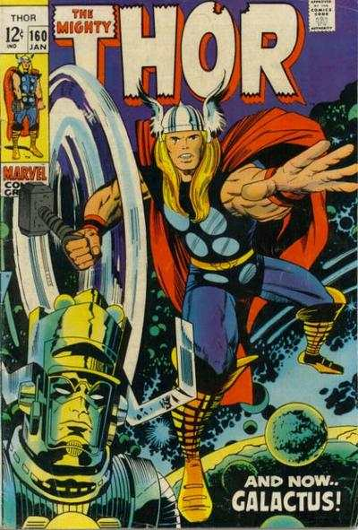 Thor #160 comic books - cover scans photos Thor #160 comic books - covers, picture gallery