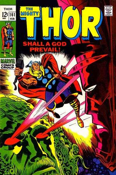 Thor #161 Comic Books - Covers, Scans, Photos  in Thor Comic Books - Covers, Scans, Gallery