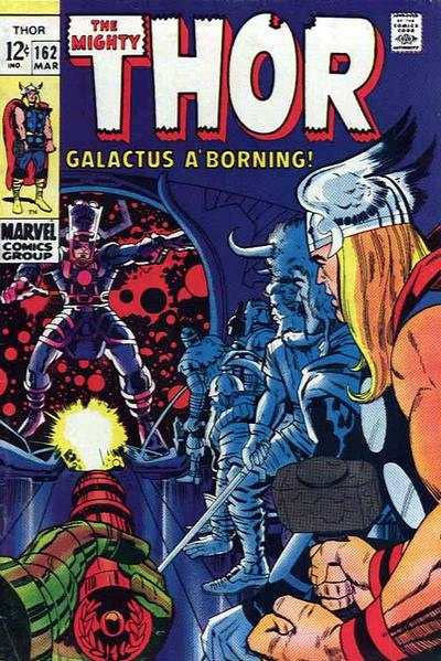Thor #162 Comic Books - Covers, Scans, Photos  in Thor Comic Books - Covers, Scans, Gallery