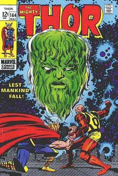 Thor #164 comic books - cover scans photos Thor #164 comic books - covers, picture gallery