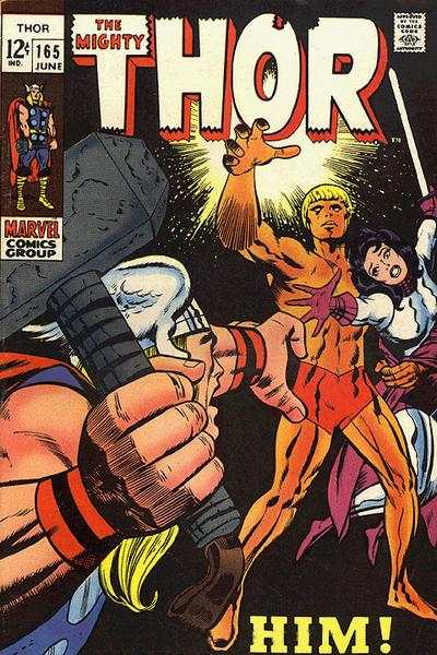 Thor #165 comic books - cover scans photos Thor #165 comic books - covers, picture gallery