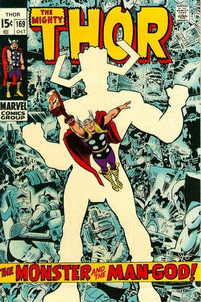 Thor #169 comic books - cover scans photos Thor #169 comic books - covers, picture gallery