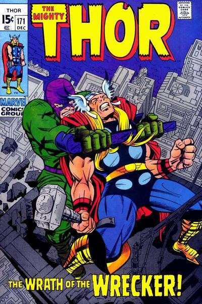 Thor #171 comic books - cover scans photos Thor #171 comic books - covers, picture gallery