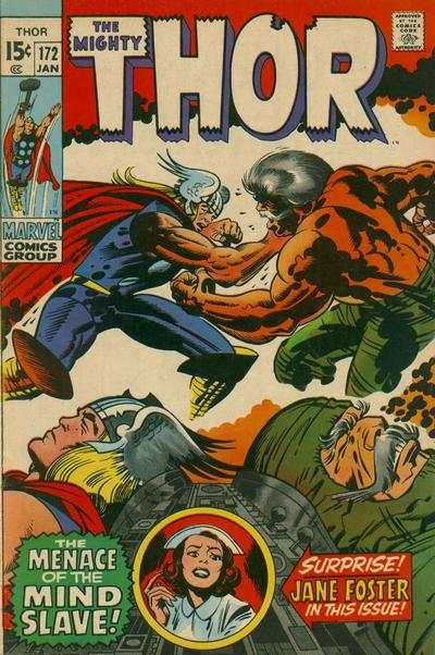 Thor #172 comic books - cover scans photos Thor #172 comic books - covers, picture gallery