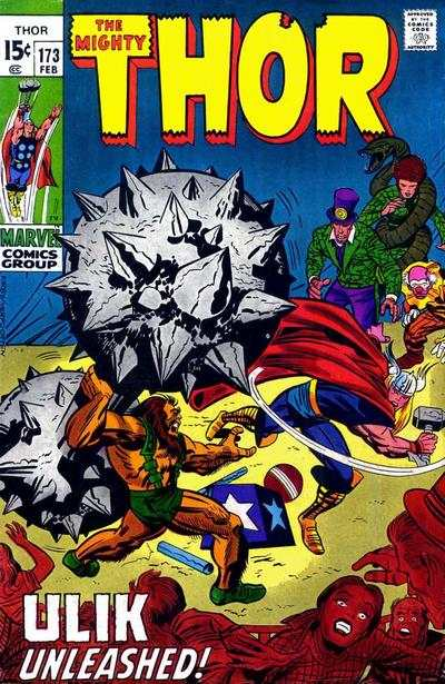 Thor #173 comic books - cover scans photos Thor #173 comic books - covers, picture gallery