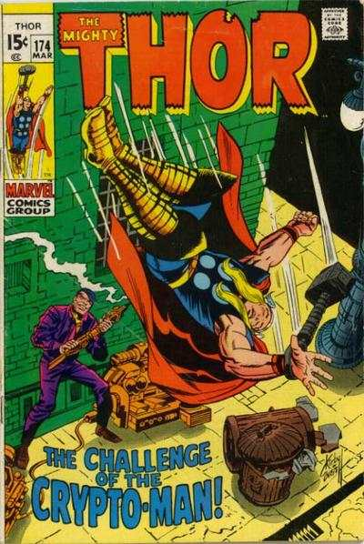 Thor #174 comic books - cover scans photos Thor #174 comic books - covers, picture gallery