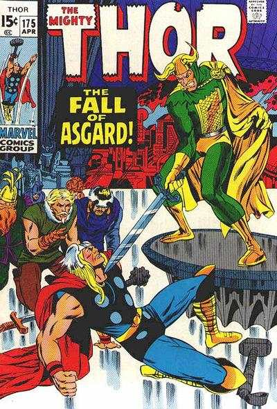 Thor #175 Comic Books - Covers, Scans, Photos  in Thor Comic Books - Covers, Scans, Gallery
