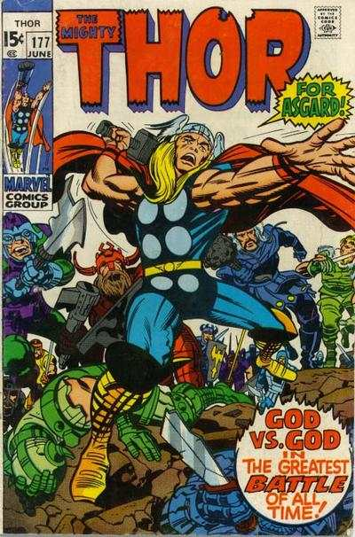 Thor #177 comic books - cover scans photos Thor #177 comic books - covers, picture gallery