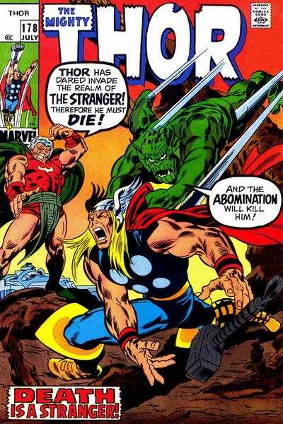 Thor #178 Comic Books - Covers, Scans, Photos  in Thor Comic Books - Covers, Scans, Gallery