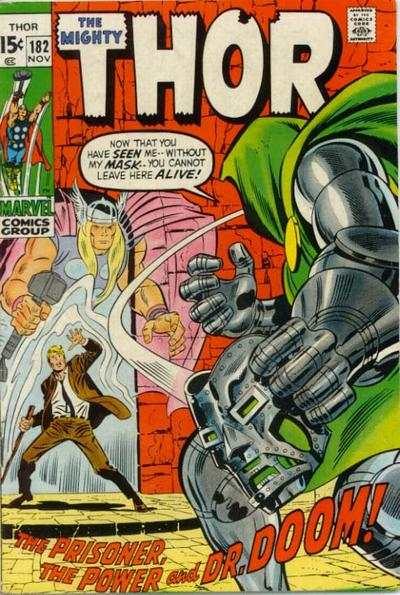 Thor #182 comic books - cover scans photos Thor #182 comic books - covers, picture gallery
