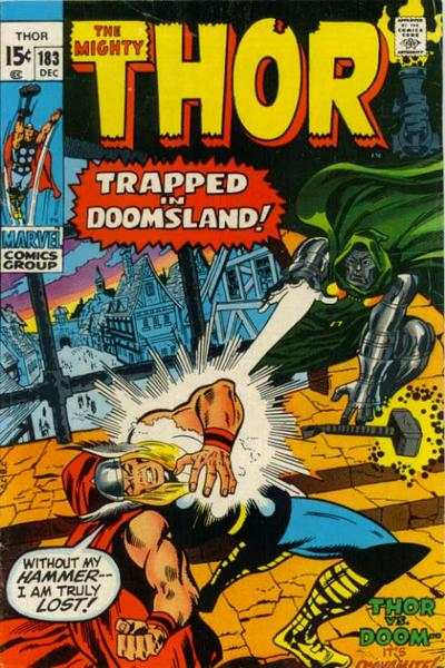 Thor #183 comic books - cover scans photos Thor #183 comic books - covers, picture gallery