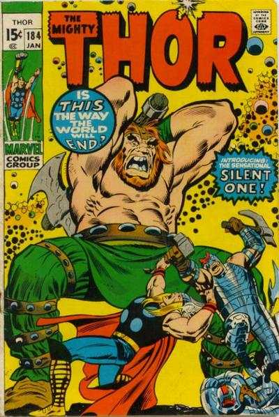 Thor #184 comic books - cover scans photos Thor #184 comic books - covers, picture gallery