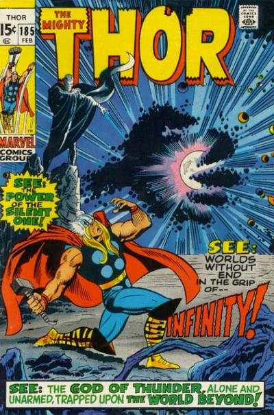 Thor #185 comic books - cover scans photos Thor #185 comic books - covers, picture gallery