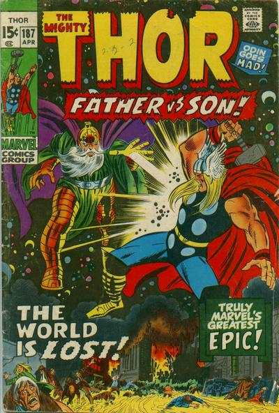 Thor #187 Comic Books - Covers, Scans, Photos  in Thor Comic Books - Covers, Scans, Gallery