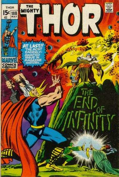 Thor #188 comic books - cover scans photos Thor #188 comic books - covers, picture gallery