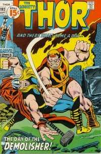 Thor #192 comic books for sale