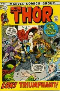 Thor #194 comic books - cover scans photos Thor #194 comic books - covers, picture gallery