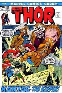 Thor #196 Comic Books - Covers, Scans, Photos  in Thor Comic Books - Covers, Scans, Gallery