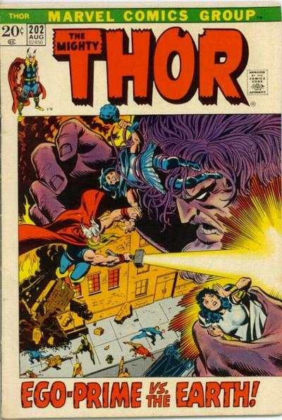 Thor #202 comic books - cover scans photos Thor #202 comic books - covers, picture gallery