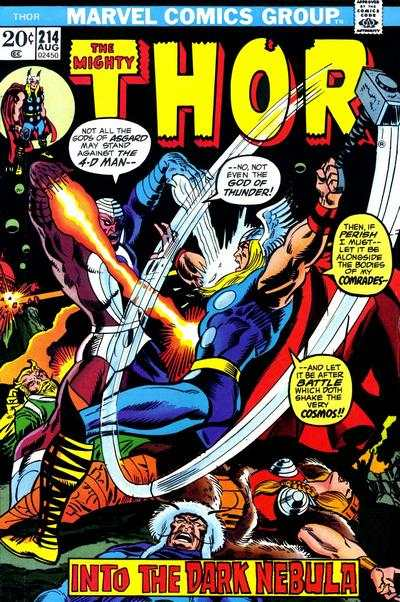Thor #214 cheap bargain discounted comic books Thor #214 comic books