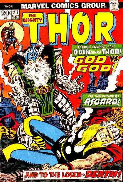 Thor #217 comic books - cover scans photos Thor #217 comic books - covers, picture gallery
