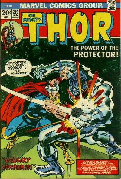 Thor #219 comic books - cover scans photos Thor #219 comic books - covers, picture gallery