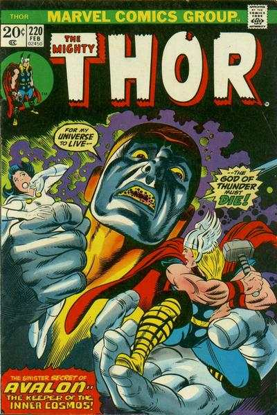 Thor #220 comic books - cover scans photos Thor #220 comic books - covers, picture gallery