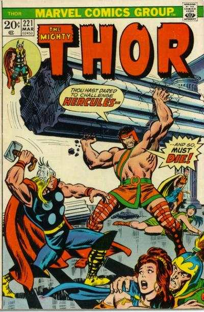 Thor #221 comic books for sale