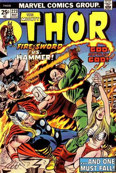 Thor #223 comic books - cover scans photos Thor #223 comic books - covers, picture gallery
