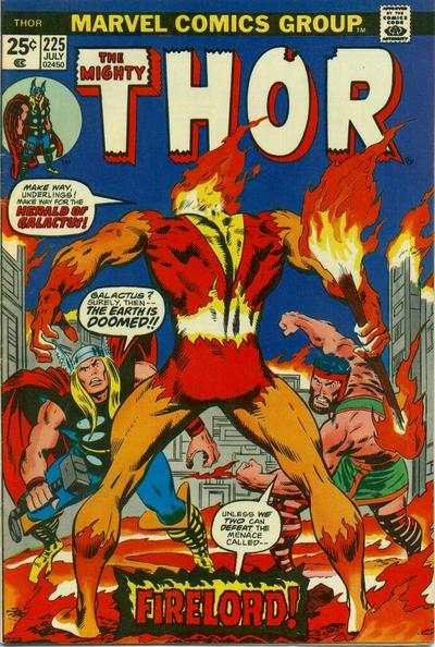 Thor #225 comic books - cover scans photos Thor #225 comic books - covers, picture gallery