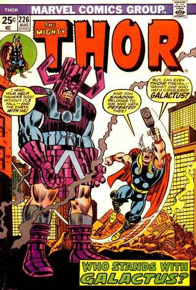 Thor #226 comic books - cover scans photos Thor #226 comic books - covers, picture gallery