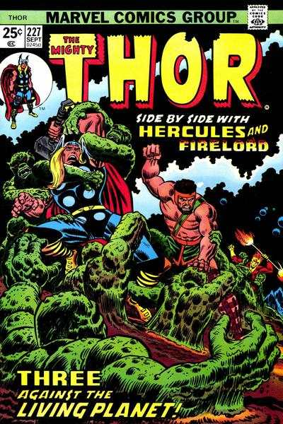 Thor #227 comic books - cover scans photos Thor #227 comic books - covers, picture gallery