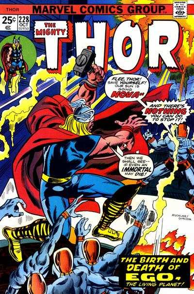 Thor #228 comic books - cover scans photos Thor #228 comic books - covers, picture gallery