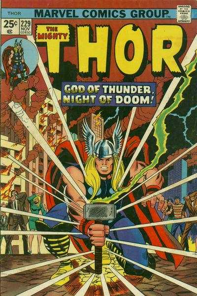 Thor #229 comic books - cover scans photos Thor #229 comic books - covers, picture gallery