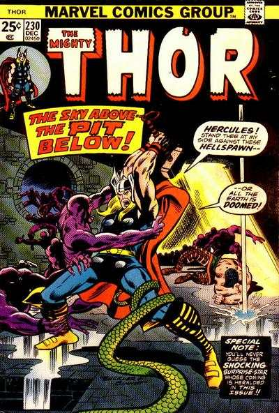 Thor #230 comic books - cover scans photos Thor #230 comic books - covers, picture gallery
