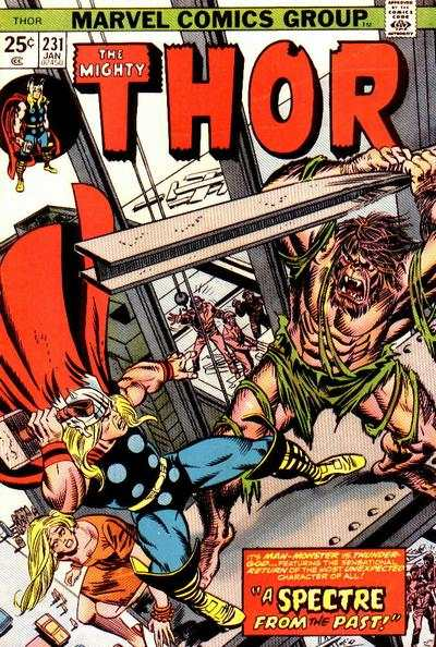 Thor #231 comic books - cover scans photos Thor #231 comic books - covers, picture gallery