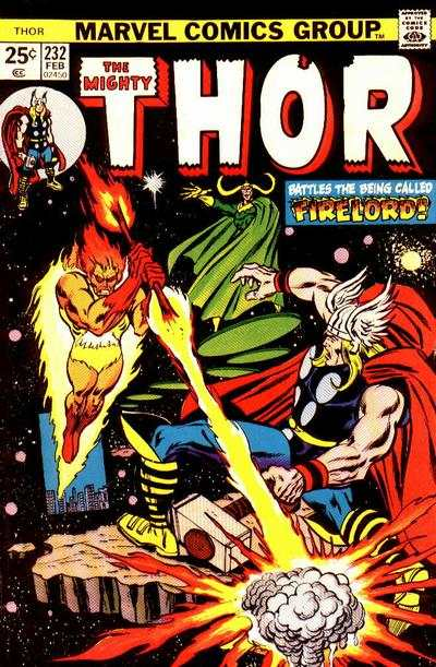 Thor #232 comic books - cover scans photos Thor #232 comic books - covers, picture gallery