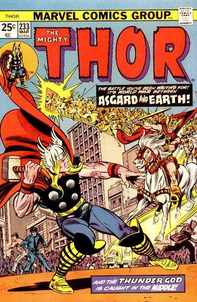 Thor #233 comic books - cover scans photos Thor #233 comic books - covers, picture gallery