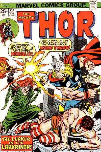 Thor #235 comic books - cover scans photos Thor #235 comic books - covers, picture gallery