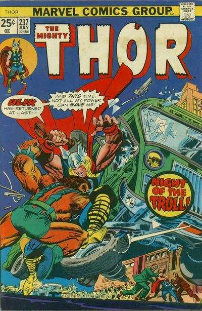 Thor #237 comic books - cover scans photos Thor #237 comic books - covers, picture gallery