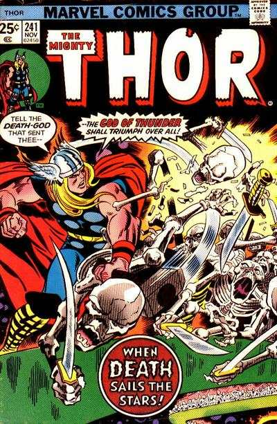 Thor #241 comic books - cover scans photos Thor #241 comic books - covers, picture gallery