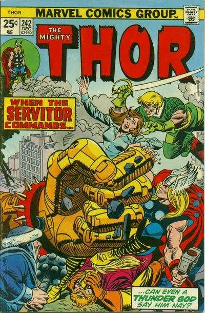 Thor #242 comic books - cover scans photos Thor #242 comic books - covers, picture gallery