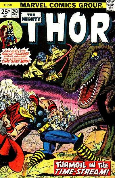 Thor #243 comic books - cover scans photos Thor #243 comic books - covers, picture gallery