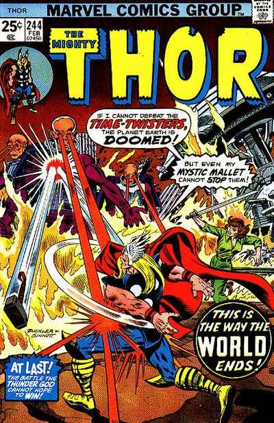 Thor #244 comic books - cover scans photos Thor #244 comic books - covers, picture gallery